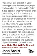 Pdf Your Hate Mail Will Be Graded Telecharger