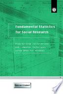 Fundamental Statistics for Social Research