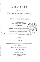 Pdf Memoirs of the Princess of Zell
