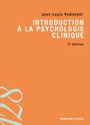 Introduction à la psychologie clinique