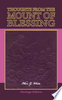Thoughts From The Mount Of Blessing Illustrated
