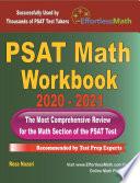 PSAT Math Workbook 2020   2021
