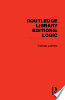 Routledge Library Editions  Logic
