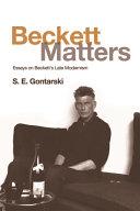 Beckett Matters