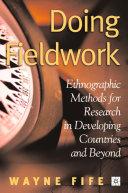 Doing Fieldwork [Pdf/ePub] eBook