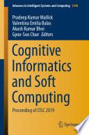 Cognitive Informatics and Soft Computing Book