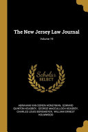 The New Jersey Law Journal Volume 19
