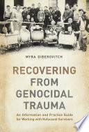 Recovering From Genocidal Trauma Book