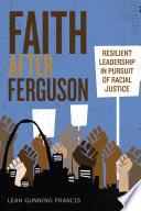 Faith after Ferguson Book