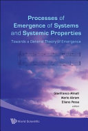 Processes of Emergence of Systems and Systemic Properties