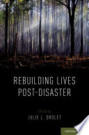 Rebuilding Lives Post-Disaster