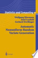 Automatic Nonuniform Random Variate Generation