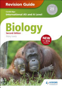 Books - AS And A Level Biology Revision Guide (2nd Edition) | ISBN 9781471828874