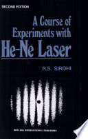 A Course Of Experiments With He Ne Lasers
