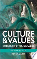 Culture and Values at the Heart of Policy Making Book PDF