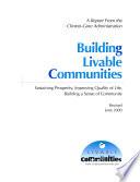 Building Livable Communities