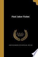 GER-FUNF JAHRE TURKEI
