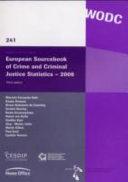 European Sourcebook Of Crime And Criminal Justice Statistics 2006