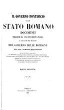 Il Governo Pontificio E Lo Stato Romano