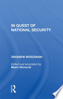 In Quest Of National Security