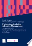 Professionelles Sales & Service Management