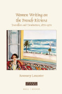 Women Writing on the French Riviera
