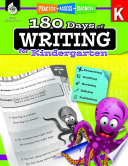 180 Days of Writing for Kindergarten  Practice  Assess  Diagnose