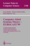 Computer Aided Systems Theory   EUROCAST 99