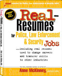Real-resumes for Police, Law Enforcement & Security Jobs--