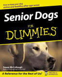 Senior Dogs For Dummies  Book