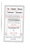 The Ridpath Library of Universal Literature