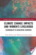 Climate Change Impacts and Women   s Livelihood Book