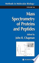 Mass Spectrometry Of Proteins And Peptides Book PDF