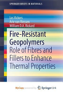 Fire Resistant Geopolymers Book