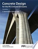 Concrete Design for the Pe Civil and Se Exams