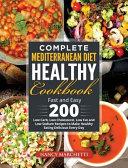 Complete Mediterranean Diet Healthy Cookbook