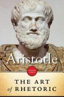 The Art Of Rhetoric Pdf/ePub eBook