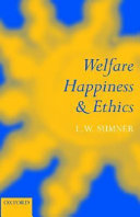 Welfare  Happiness  and Ethics