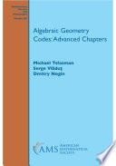 Algebraic Geometry Codes Advanced Chapters