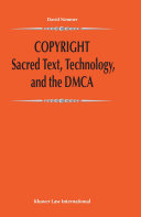 Copyright:Sacred Text, Technology, and the DMCA