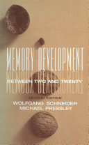 Memory Development Between Two and Twenty [Pdf/ePub] eBook