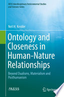 Ontology and Closeness in Human Nature Relationships