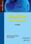 Pdf Géopolitique de l'Europe - 2e éd. Telecharger