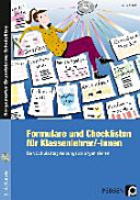 Formulare und Checklisten für Klassenlehrer, -innen