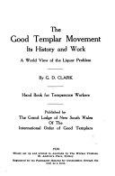 The Good Templar Movement