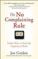 The No Complaining Rule Pdf/ePub eBook