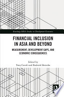Financial Inclusion in Asia and Beyond