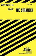 CliffsNotes on Camus The Stranger