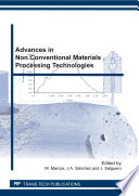 Advances in Non Conventional Materials Processing Technologies