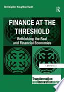 Finance at the Threshold